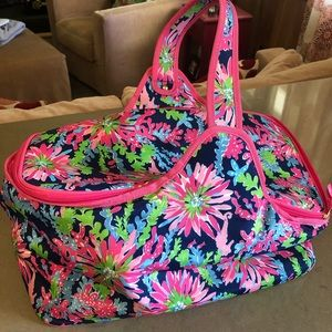 Lilly Pulitzer insulated tote large